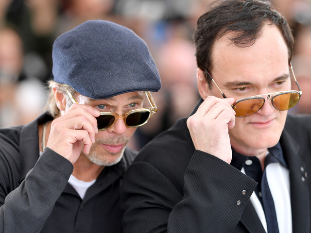 Quentin Tarantino Says Brad Pitt's Shirtless 'Once Upon a Time in Hollywood' Scene Was Like 'Homoerotica'