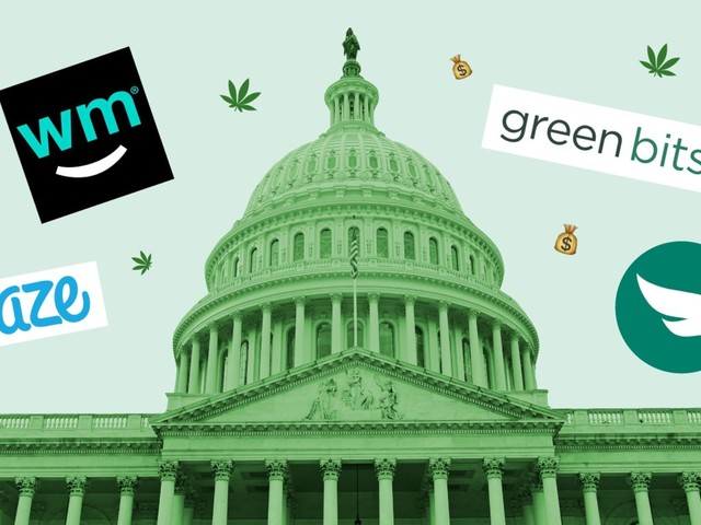 Cannabis retailers can't bank like other businesses, so they are sending lobbyists to Capitol Hill