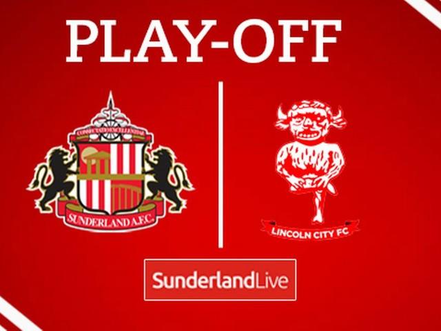 Sunderland vs Lincoln City LIVE
