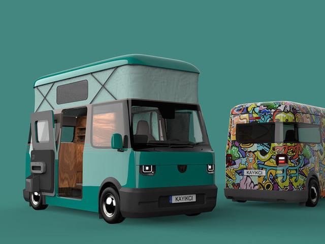 Retro-Inspired Camper Vans - The Conceptual Volkswagen 'Joy Camper' Modernizes a Classic (TrendHunter.com)