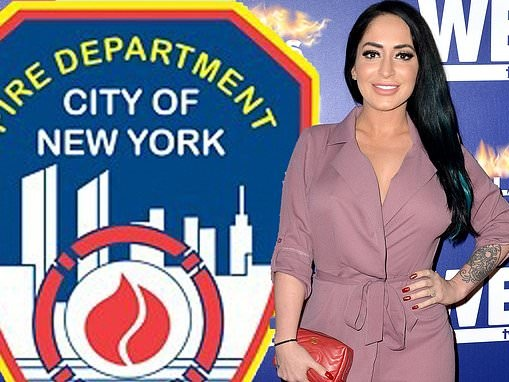 Jersey Shore star Angelina Pivarnick sues former FDNY colleague saying he sexually harassed her