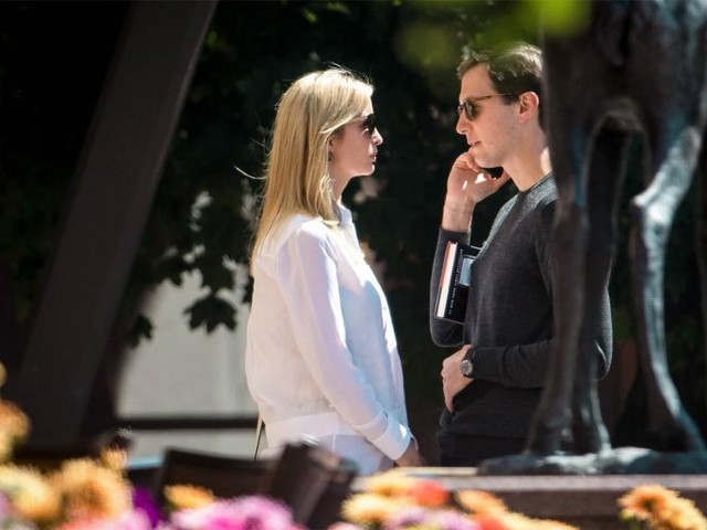 Sources Close to Jared and Ivanka Say Jared and Ivanka Tried Their Best