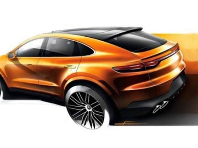 Is this the 2020 Porsche Cayenne Coupe?