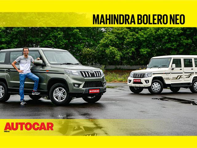 Review: Mahindra Bolero Neo video review