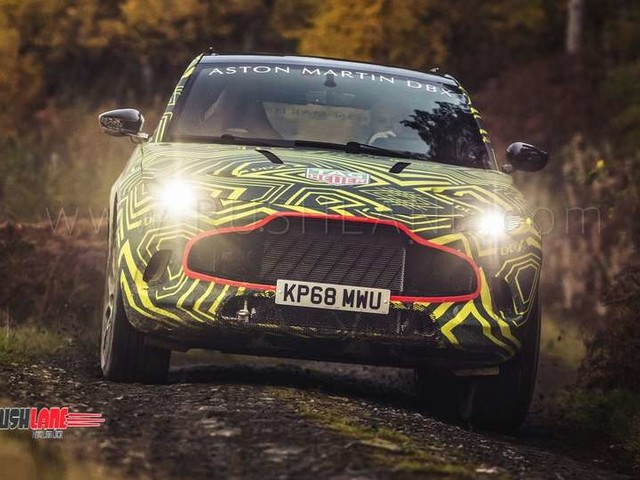 Aston Martin SUV starts road test – Could be a Lamborghini Urus rival