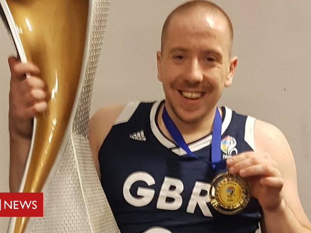 NI wheelchair basketball player shows his mettle with global gold
