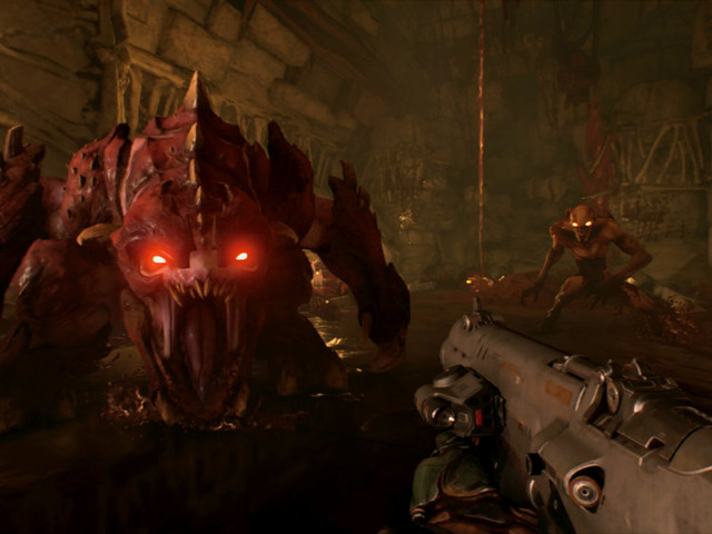 Here's some first screenshots of DOOM for Switch, plus some hands-on impressions