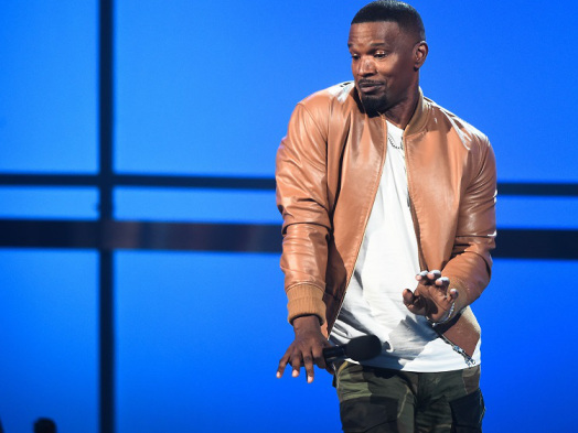 BET Awards: Jamie Foxx Goes Off-Script to 'Acknowledge' Childish Gambino