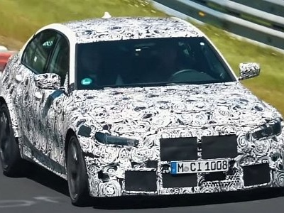 Next-Gen BMW M3 Spied at the Nurburgring, Exhaust Sound Hints at Auto Gearbox