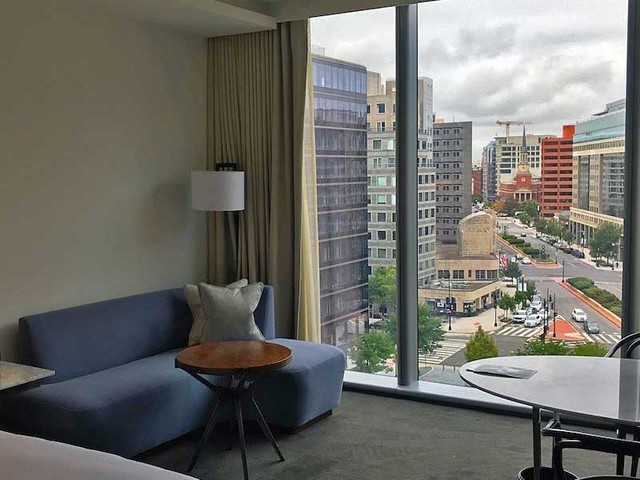 I flew from Europe to DC and stayed at the Conrad DC — here's what it was like to spend a night of self-imposed quarantine in a 5-star hotel