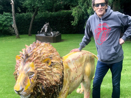 Ronnie Wood supports Tusk Lion Trail