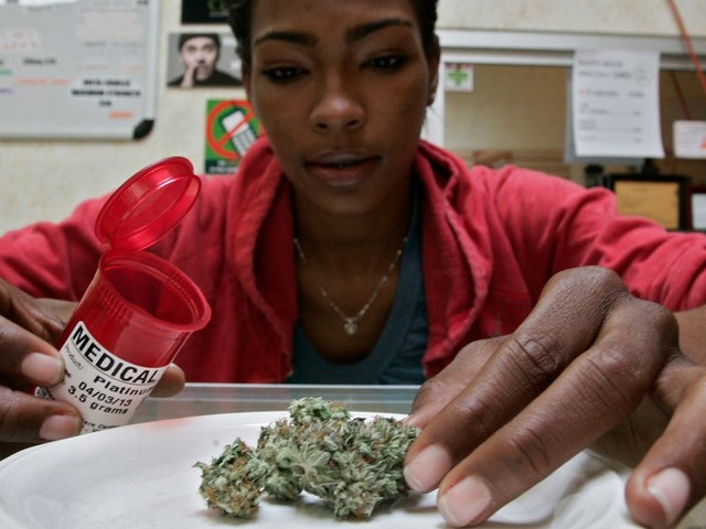 Sates with legal medical marijuana have seen a drop in workplace deaths