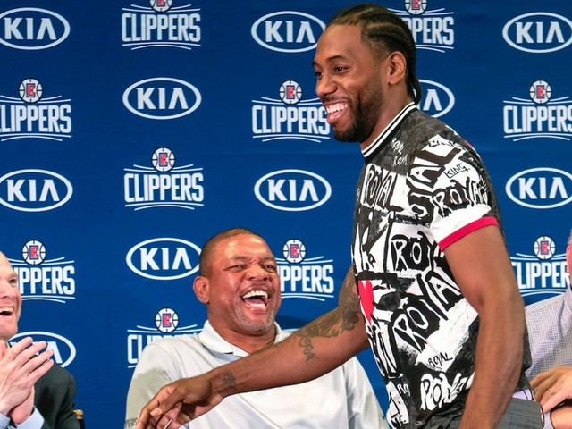 The Clippers realized they had a shot to get Kawhi Leonard when he visited Doc Rivers' Malibu home but forced the Lakers to go to his hotel