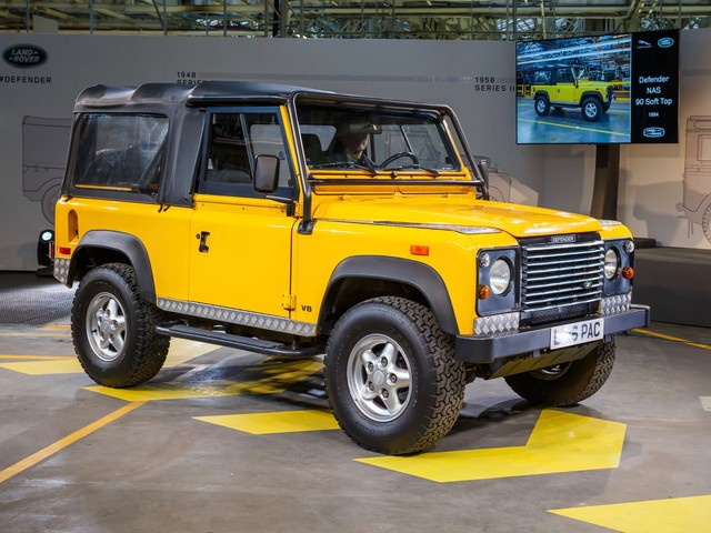 Next-gen Land Rover Defender will debut at the end of 2018