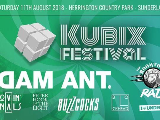 Kubix Festival announces inaugural line-up inc Adam Ant, Peter Hook & The Light