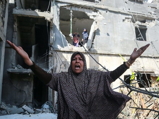 Democrats say the Israel-Hamas cease-fire isn't enough to prevent future violence in the region