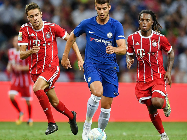 Morata makes Chelsea debut, but Bayern Munich 'roast' Blues