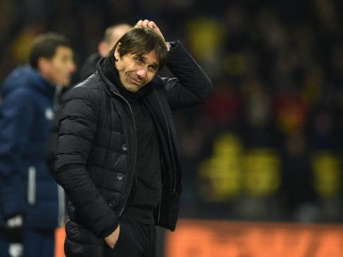 Watford thrashing piles pressure on Chelsea boss Conte