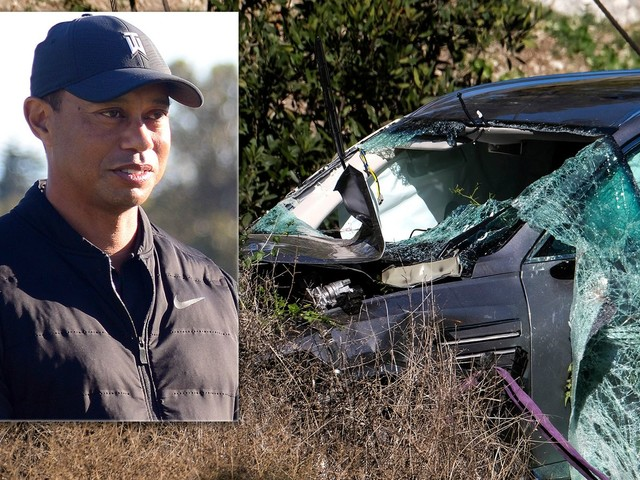 Tiger Woods shares update on his condition after grisly LA car crash
