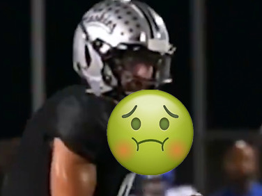 The greatest high school comeback took place with a puke-soaked football