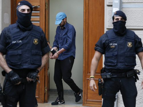 Moroccan held in Paris over 2015 train attack