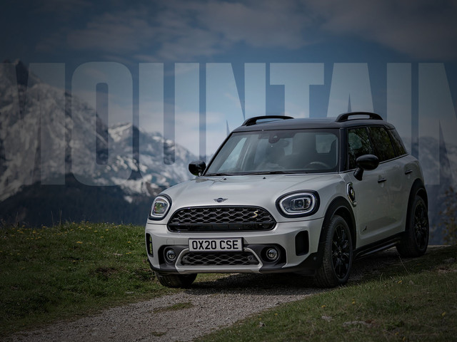 Promoted | The new MINI Countryman: scale up your mountain escape