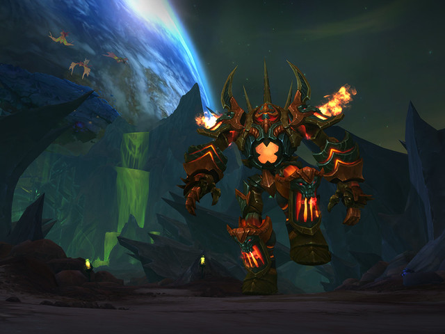 World of Warcraft Legion patch 7.3 Shadows of Argus takes us to another planet on a spaceship
