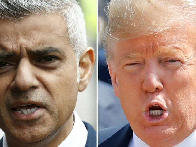 How Donald Trump's feud with Sadiq Khan began