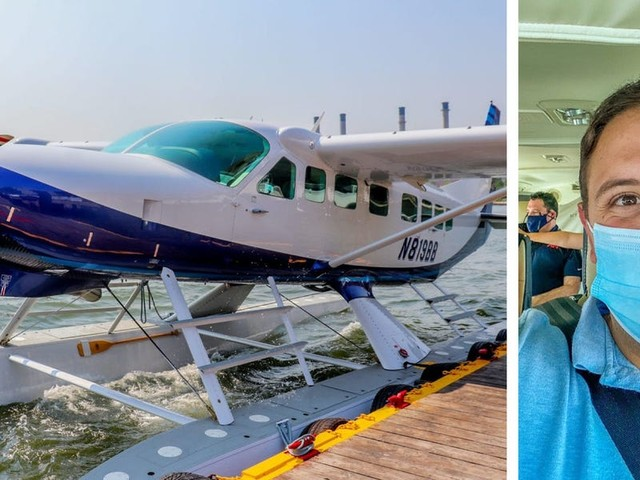 I flew on Tailwind Air, the seaplane airline that flies between New York and Boston — I'd choose it over Acela in a heartbeat