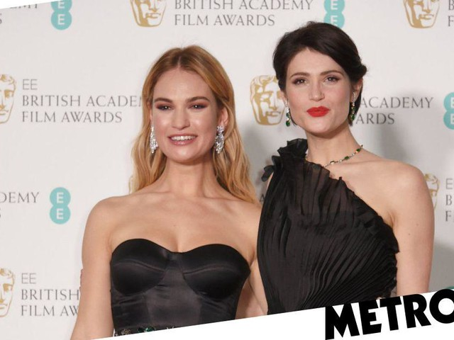 Is Lily James engaged to Matt Smith? Actress sports a huge diamond on the Baftas red carpet