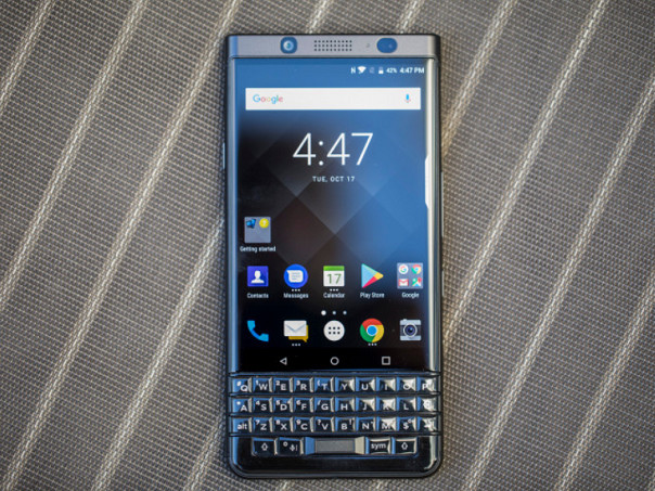 BlackBerry KEYone receives 17MB update that preps it for Oreo