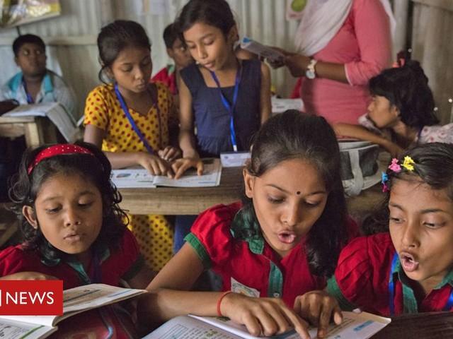 Boris Johnson says girls' education key to ending poverty