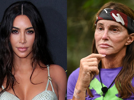 Kim Kardashian Claps Back After Her Family's Dissed For 'Snubbing' Caitlyn Jenner On 'I'm A Celebrity'