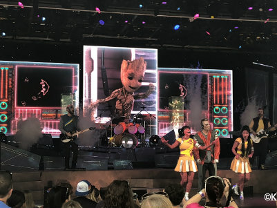Guardians of the Galaxy – Awesome Mix Live! Returns to Epcot This Summer