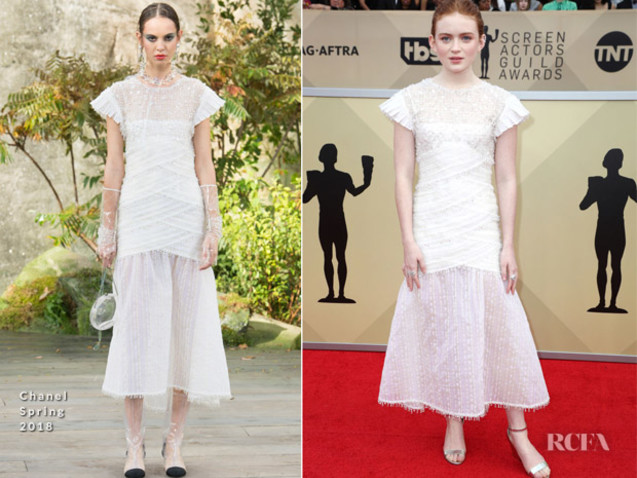 Sadie Sink In Chanel – 2018 SAG Awards