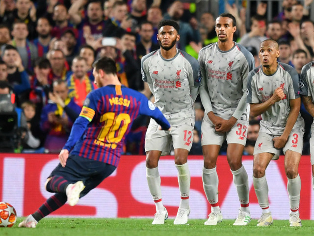 Video and reactions: Lionel Messi free-kick stuns Liverpool at the Camp Nou