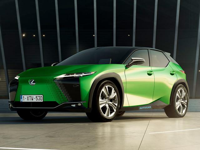 New Lexus EV blazes a trail for performance-led line-up