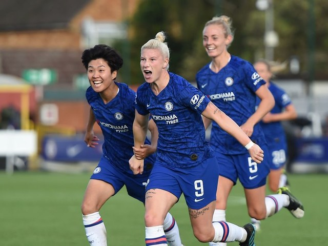 WATCH: Beth England two-touch goal to equalise for Chelsea against Arsenal