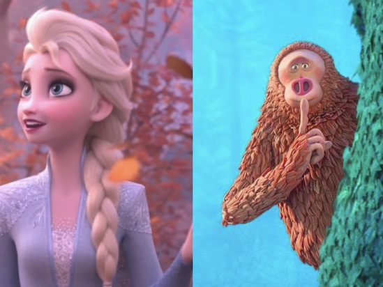 'Frozen II,' 'Missing Link' Are the Top Toons in Annie Awards Nominations