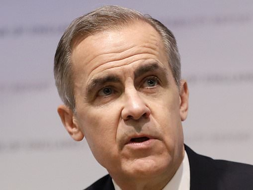 Bank of England Governor Mark Carney could be questioned by MPs about security breach