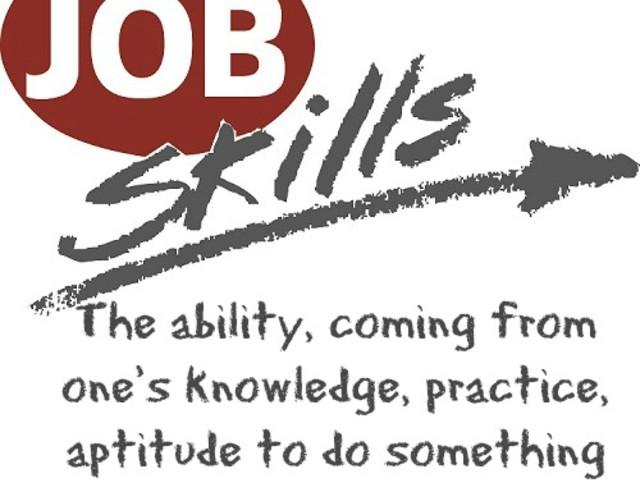 Sep 7, Complete Job Skills List