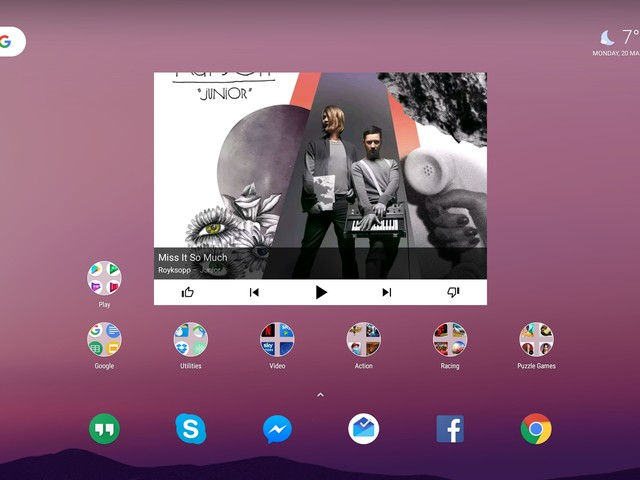New Android 7.1.2 beta for Pixel C adds Pixel Launcher and new multitasking UI