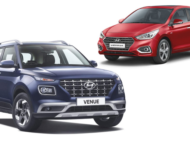 Hyundai Venue Vs Hyundai Verna: Specification Comparison