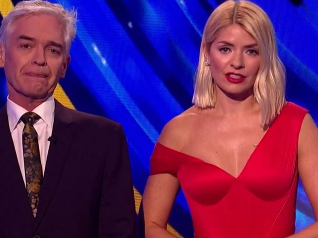 Dancing On Ice's Holly and Phil fight back tears as they pay tribute to Caroline Flack