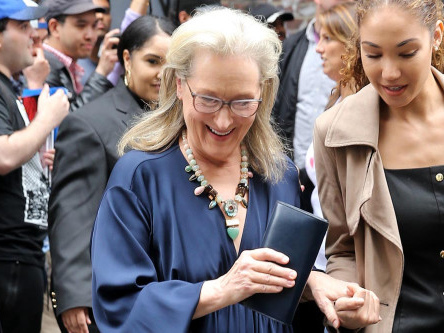 Meryl Streep was 'so depressed' on Devil Wears Prada set