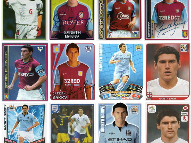 No Frills: Football Stickers Chart The Incredible Non-Evolution Of Gareth Barry (Photos)