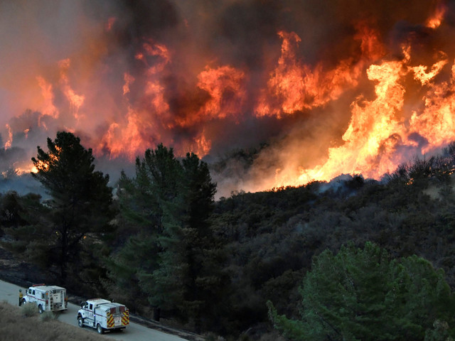 California's Thomas Fire Now Ranks Among Largest In State History