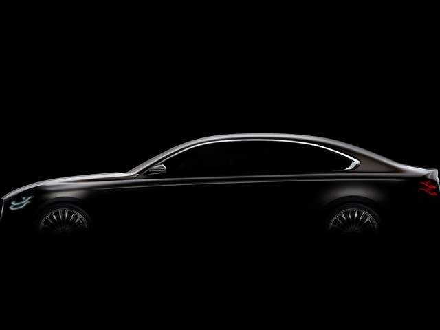 Second-Generation 2019 Kia K900 Teased Ahead of Official Reveal