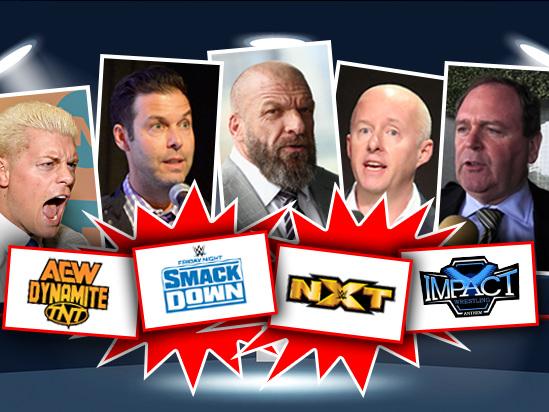 Inside Pro-Wrestling's Big, Huge 96-Hour TV Shakeup