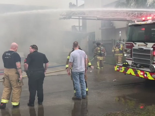 'Suspicious' house fire prompts shelter in place order in Bayou Vista